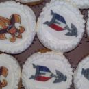 Marine Corp Cup Cakes